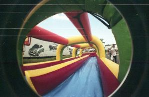 fisheye water slide by psychotic-cheshire