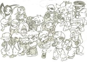 Street Fighters by ghettorob21