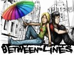 Between the Lines website banner. by Mekari