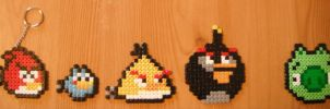Angry Bird Sprite Set by TombRaiderKuchen