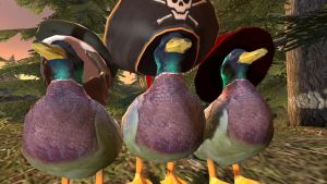 the 3 duck by Spays