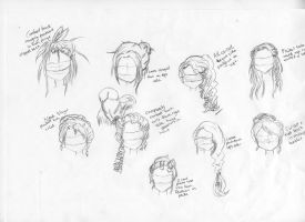 Steampunk hairstyles by woostersauce