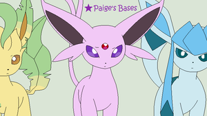 3 Confused Eeveelutions Base by Paige-the-unicorn