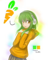 Gumi Wants Carrots by HamCrumbs