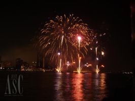 Fireworks Colours by Pentacle5