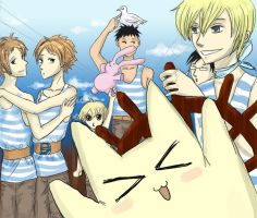 Ouran: Voyage by Wohald