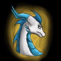 Glade sketchy headshot by Glade-the-Dragoness