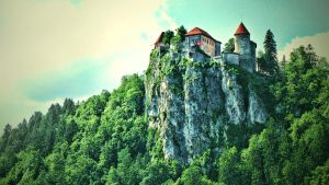 Bled Castle by Straxer