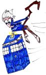 Racing the TARDIS by MonstrousPegasister
