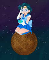 Sailor Mercury! by ScrapCity
