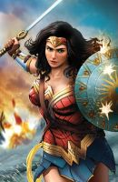 Wonder Woman Movie by Dan-the-artguy