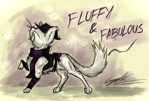 Traditional: Fluffy and Fabulous by GingaAkam