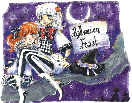 Hallowe'en Feast by Lahara