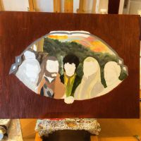 A hobbit oil painting wip by neko-loverx3