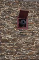 Fortified wall with canon 3 by steppelandstock