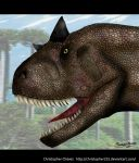 Carnotaurus by Christopher252