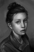 Week 10, Portrait study by skybrush