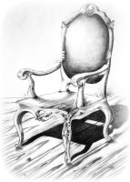 chair by dr4wing-pencil
