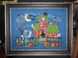 Halloween House by KezzaLN