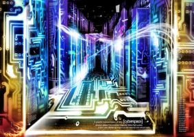 cyberspace by forerunnergr