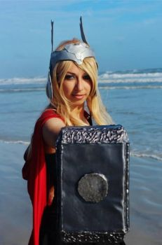 Lady Thor by LadyArdeth