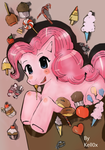Pinkie Pie -mangastyle- by Kell0x