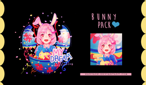 Bunny pack c: by xAryaSx