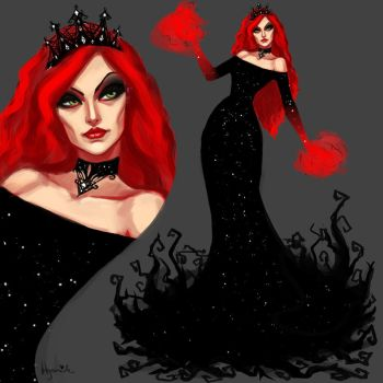 54/365 The Evil Queen by Hyanide