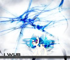 Vinyl Scratch I WUB Wallpaper by StreamlinedPegasus