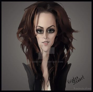 Kristen Stewart - by Arista Afriandy by AristAF