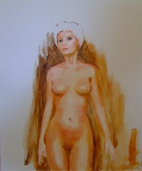 Figure Study by Audierne