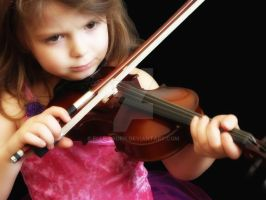 The Violin Lesson by Elle-Arden