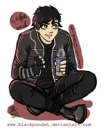 Gerard a la Black Parade Outfit by BlackPandah