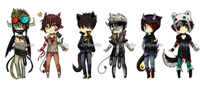 MaeGin Collab set price with extras - OPEN by Ginsuke