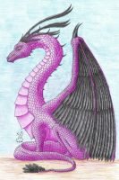 Dragon Form by Scellanis
