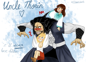 Uncle Thorin by Isram