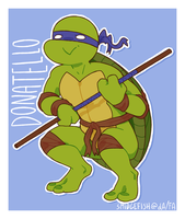 HEROES IN A HALF SHELL TURTLE POWER by SmidgeFish