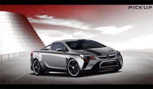 Opel Astra PickUp Concept by LadyDeuce
