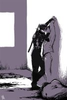 Kiss in the war by Seventing