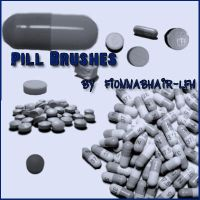 Pill Brushes by Fionnabhair-LFH