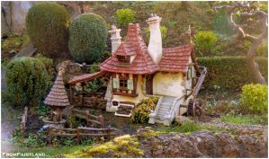 Belle's cottage by fromfairyland
