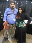 Myself and Ivy DoomKitty by altrondragon