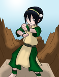 Toph Bei Fong by lordlim