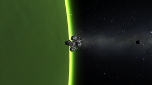 Laythe Lander Aerobraking at Jool by menalaos1971