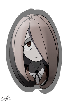 Sucy from LittleWitchAcademia by themaverickduck