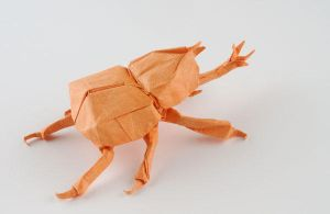 Samurai Helmet Beetle 2.1 - A by Dreams-Made-Flesh