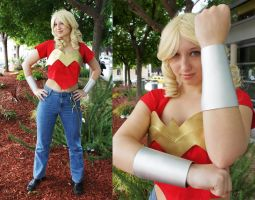 Wonder Girl - Cassie Sandsmark by etaru