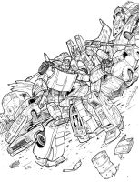 Charger VS Starscream by Charger426