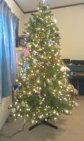 My Christmas  Tree by Juliangirl