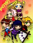 The Girls of Naruto by mslckitty